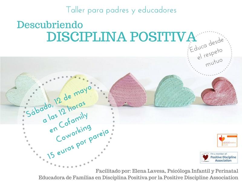 Taller de Disciplina Positiva para familias